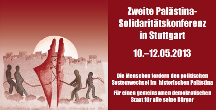 2.Palästina-Solidaritätskonferenz in Stuttgart