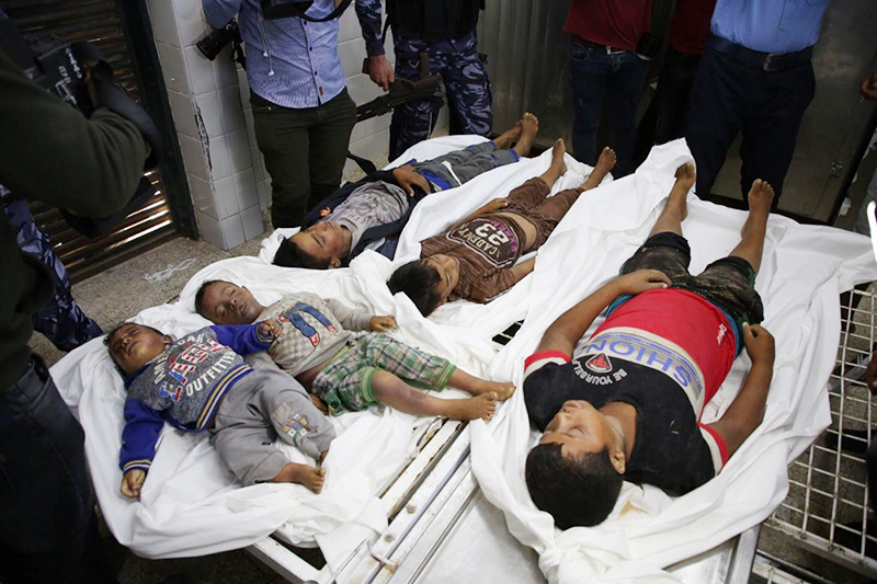 Gaza onslaught